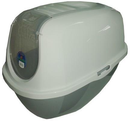 Yarro /Moderna Toaleta Z Filtrem Eco-Line Classic Srebrna