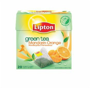 Lipton GREEN ORANGE PIRAM 20TB