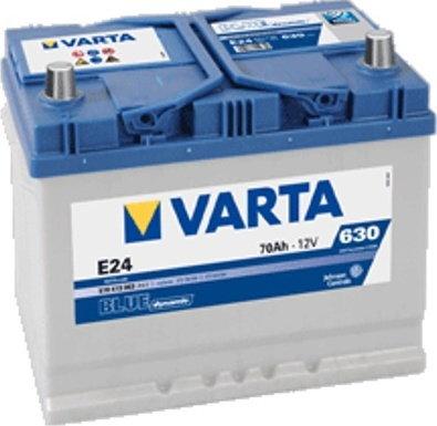 Varta BLUE DYNAMIC E24 70Ah 630A L+