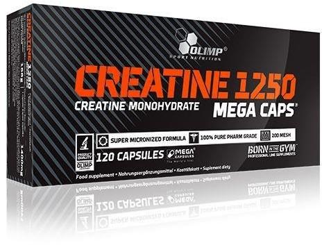 Olimp TCM Mega Caps (jabłczan kreatyny) 120 kaps./1100mg