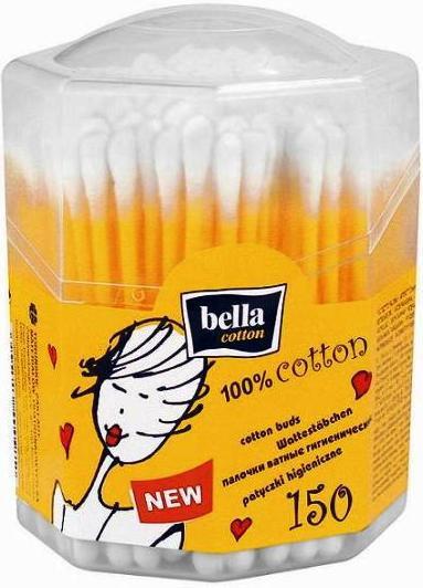 Opinie o Bella Patyczki higieniczne ośmiokątne Cotton 150 szt.