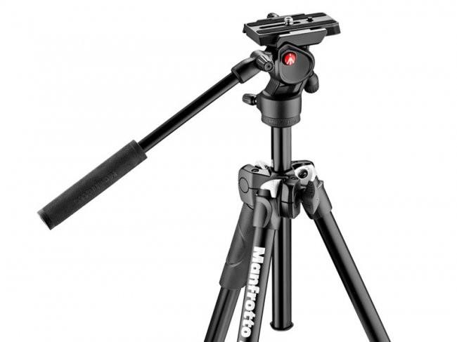 Manfrotto 290 Light z głowicą wideo Befree Live MK290LTA3-V