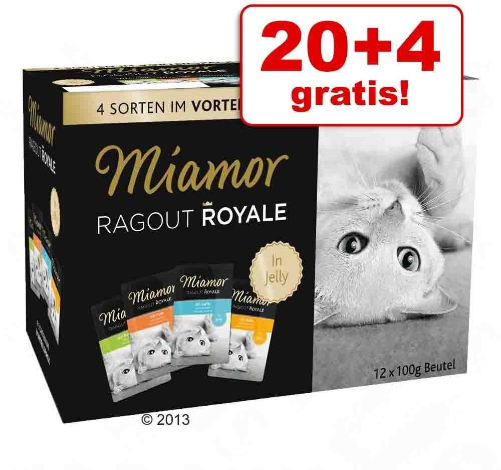 Miamor 20 + 4 gratis! Ragout Royale 24 x 100 g Kawałeczki w sosie