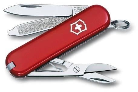 Victorinox Scyzoryk Classic SD Celidor 58mm czerwony)