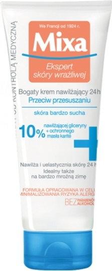 MIXA MIXA 24 HR Moisturising odżywczy krem nawilżający do bardzo suchej skóry  50ml