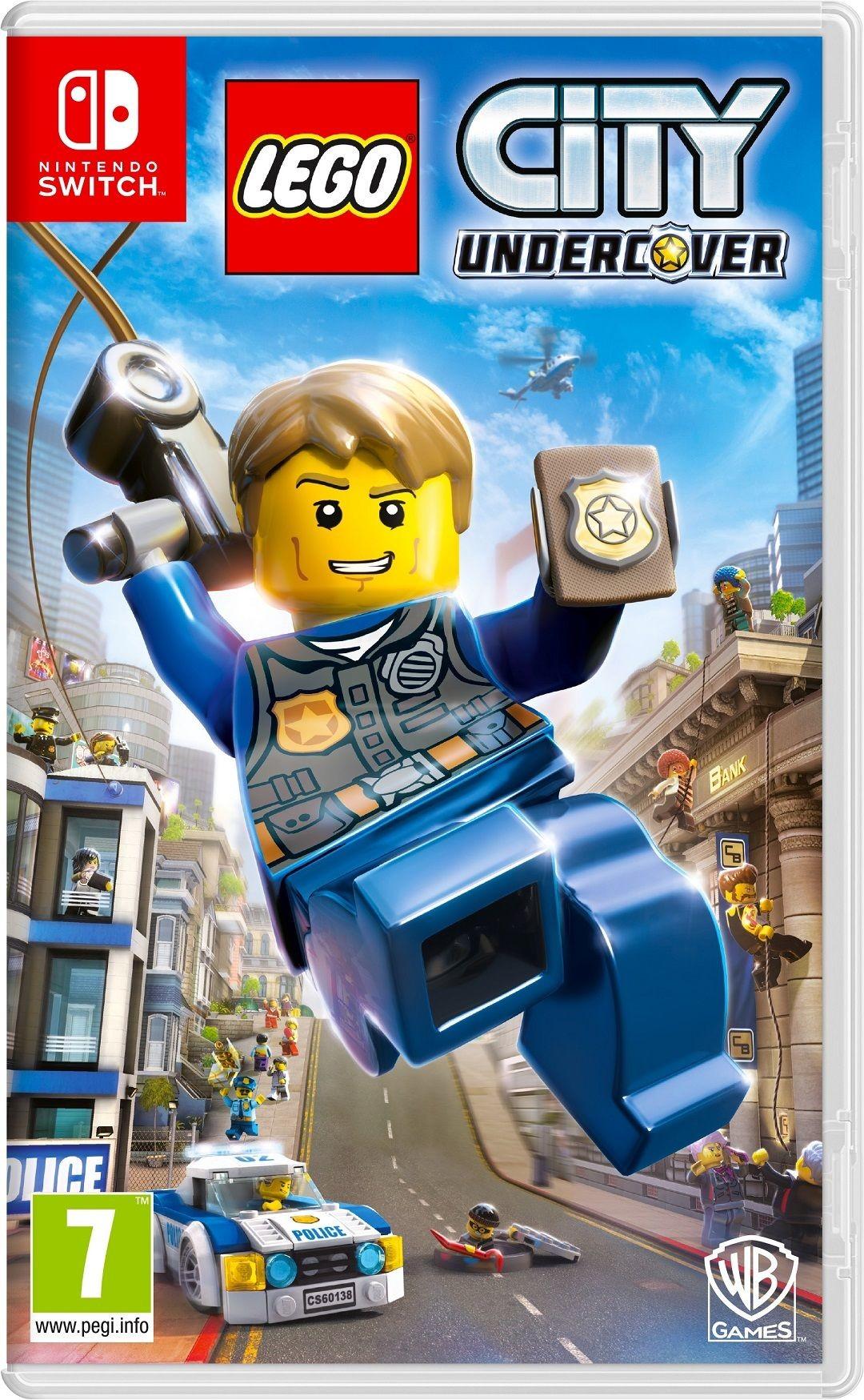 Opinie o LEGO CITY: Tajny agent NSwitch