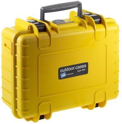 B&W International Outdoor-Case Type 500 - Walizka na sprzęt foto-video 500/Y/SI