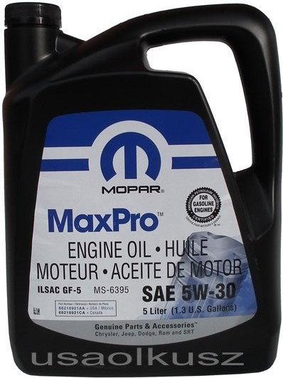 MOPAR GF-5 MS-6395 5W-30 5L