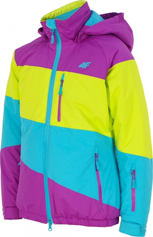 4F [T4Z13 JKUDN306] Kurtka narciarska dziewczęca JKUDN306