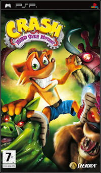 Crash Bandicoot Mind over Mutant PSP