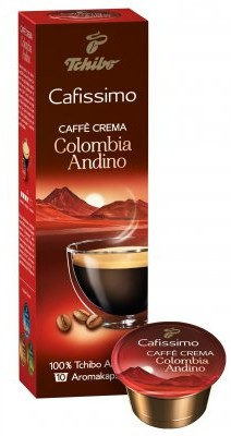 Tchibo Kapsułka Cafissimo Caffe Crema Colombia Andino 10 szt