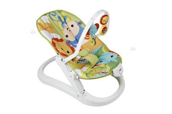 Mattel Fisher Price Baby Gear Składany leżaczek z wibracjami *