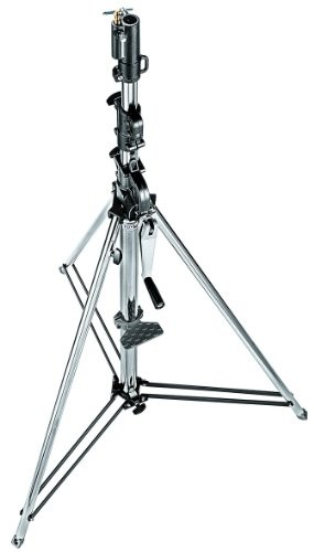 Manfrotto Tripod Wind-up, srebro (087NW)