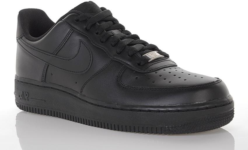 air force 1 czarne damskie krótkie