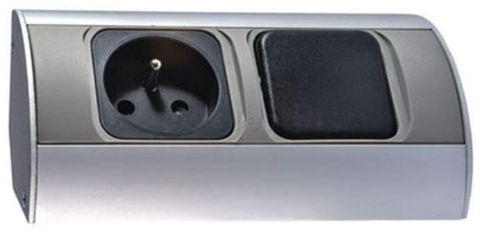 Orno Gniazdo meblowe z wyłącznikiem 1 x 230V OR-AE-1302