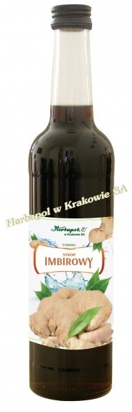 Herbapol Syrop imbirowy 400ml