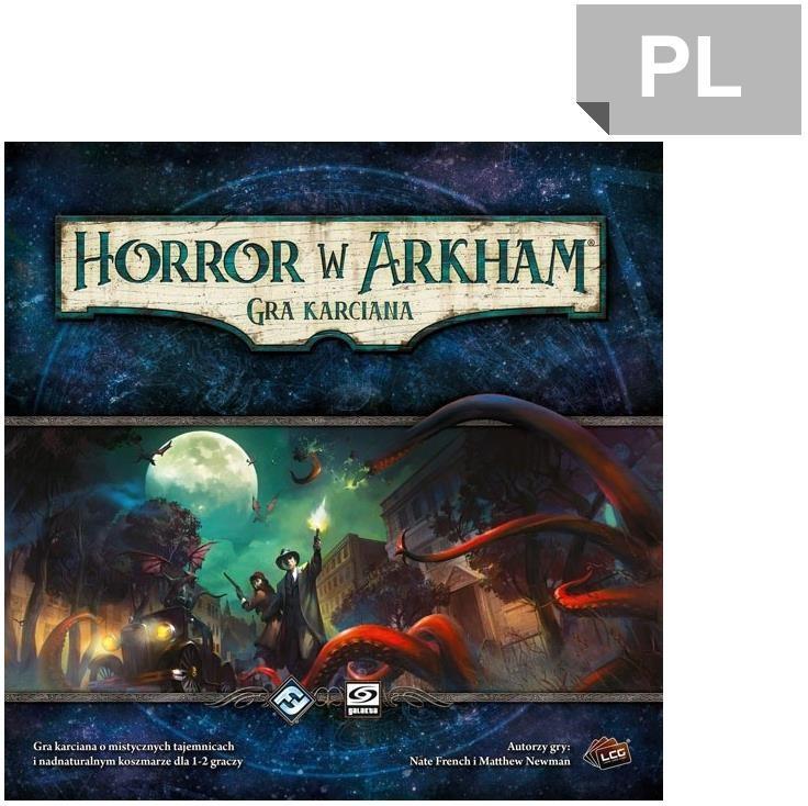 Galakta Horror w Arkham Gra karciana