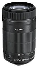Canon EF-S 55-250 mm f/4-5.6 IS STM (8546B005AA)