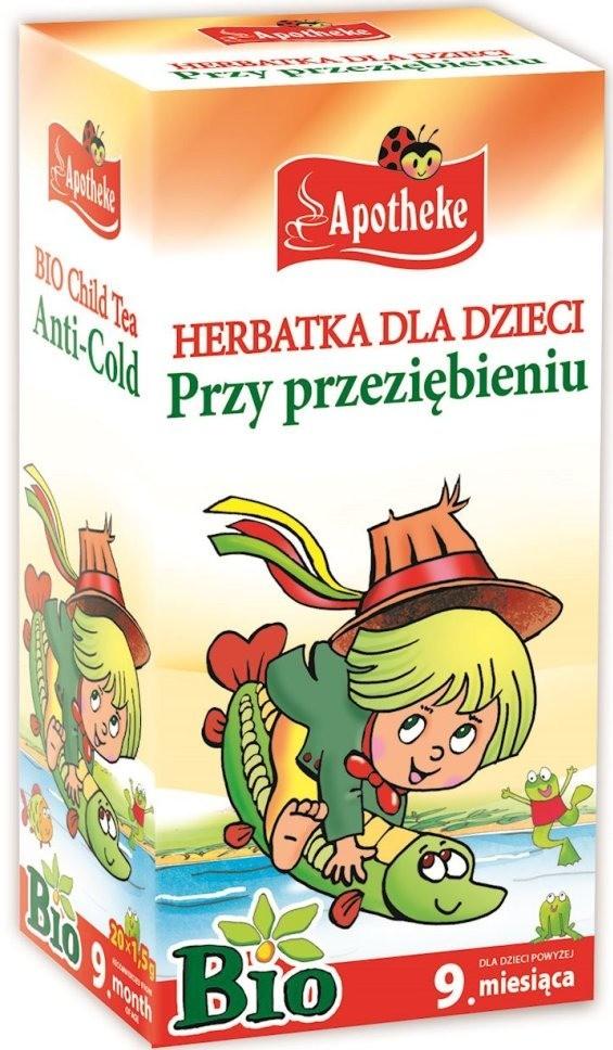 Apotheke Herbatka Dla Dzieci Przy Przeziębieniu 20x1,5g - Apotheke EKO BPLHERDDZINAP