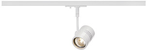 Spotline BIMA I lamp head white, GU10, 1x50W max., incl. 1P.-Adapter 143441 204