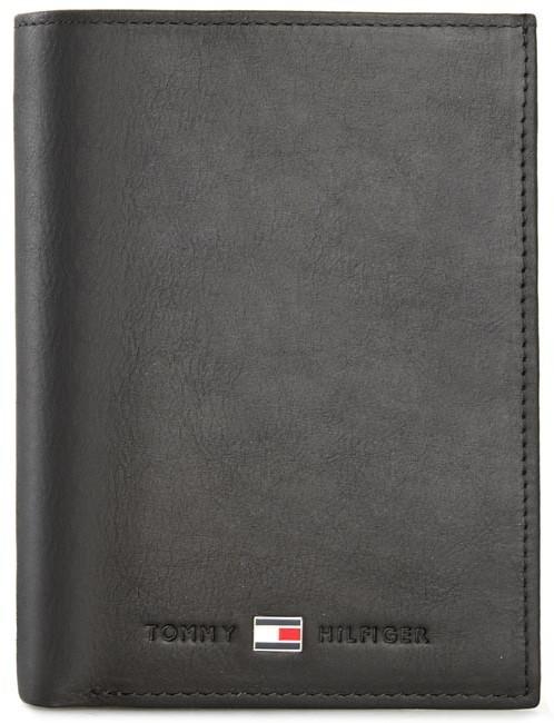 efc59c2919bdc Tommy Hilfiger Duży Portfel Męski Johanson N S Wallet W Coin Pocket  AM0AM00664 Czarny