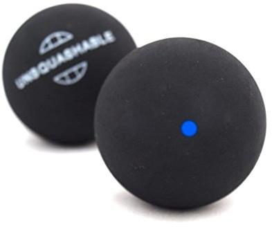 Unsquashable Piłki Do Squasha, Opakowanie Blister 2 Sztuki, Niebieski, Jeden Rozmiar (382211)