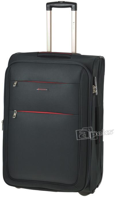 95eefdb6238df Wittchen Duża walizka S-Line zielona 56-3-613 - opinie użytkowników ...