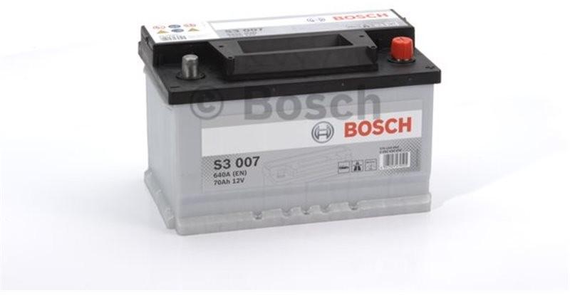 BOSCH SILVER S3 007 70Ah 640A P+