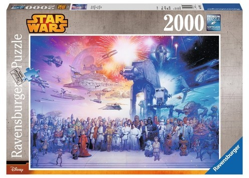 Ravensburger Puzzle Star Wars Wszechświat 2000