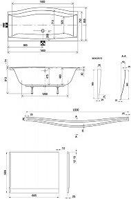 Opinie o Ravak Stelaż Magnolia DESIGNOWE WANNY GPX2240035