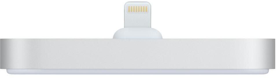 Apple Stacja dokująca Lightning do iPhone'a Srebrna (ML8J2ZM/A)