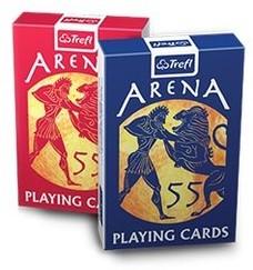 Trefl Karty do gry Arena 55 listków mix