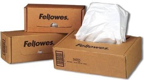Opinie o Fellowes Worki do niszczarek , rozmiar 121-143l 50 sztuk