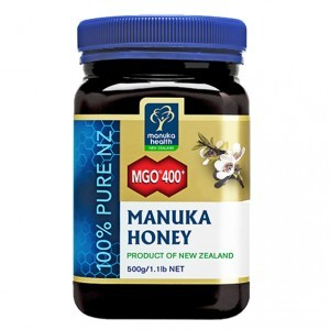 Manuka Health Limited Miód Manuka MGO 400+ Nektarowy 500g MM400500