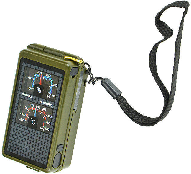 Mil-Tec Kompas Wielofunkcyjny 10w1 Oliv
