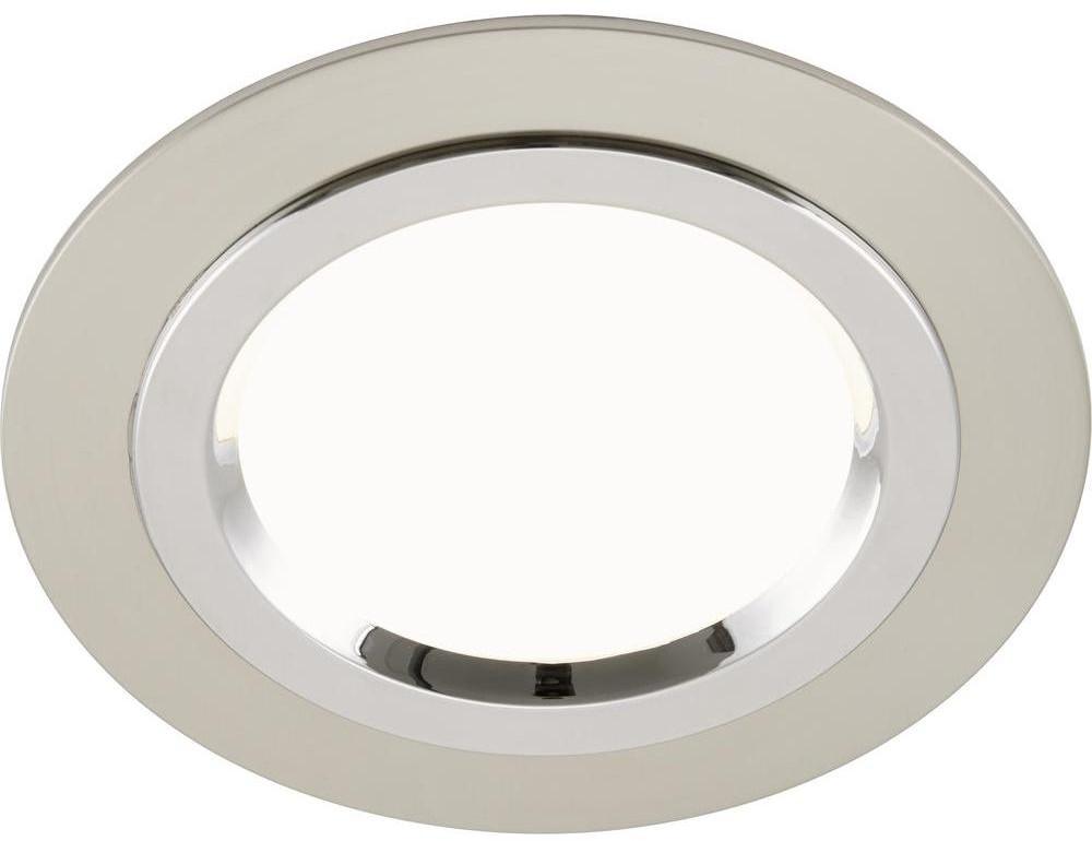 Briloner Lampa łazienkowa LED do zabudowy 7262012 1000 lm 3000 K nikiel matowy) chrom