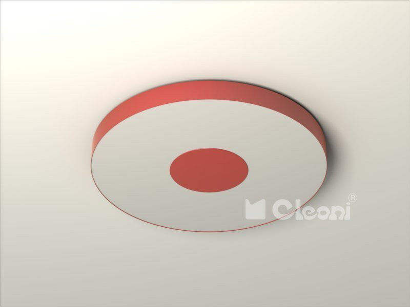 Cleoni FERRO 28 plafon - 104 bordo mat 1 1136P1