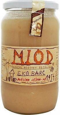 Patalas Eko Barć miód malina leśna BIO 1000g 5907814666482