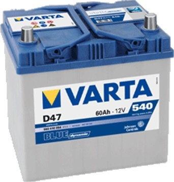 Varta BLUE DYNAMIC D47 60Ah 540A P+
