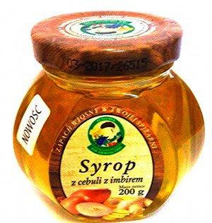 Fungopol Syrop z cebuli z imbirem 200g