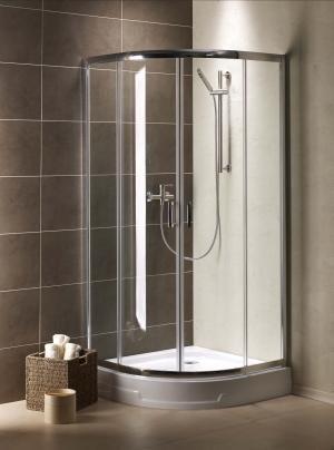 Radaway Premium Plus A 90x90 szkło satinato 30403-01-02N