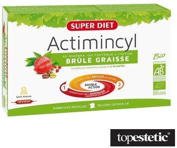 SUPER DIET Actimicyl Fat Burner Spalanie tłuszczu 20x15ml