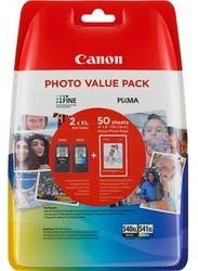 Canon Tusz value pack PG 540+Cl 541XL+ papier photo PG 540XL+CL 541XL bk/col 5222B013