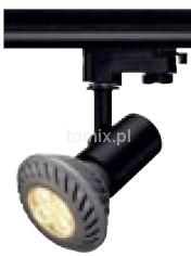 Spotline E27 Spot, czarny, max. 75W, wraz z adapterem 3-fazowym 152200 204 / 152