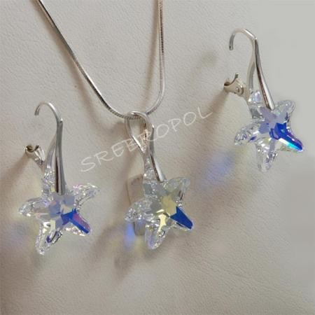 65a25d1274ccf Rozgwiazdy z kryształkami swarovskiego - CRYSTAL AB 16.0 mm (6721 16.0 mm)