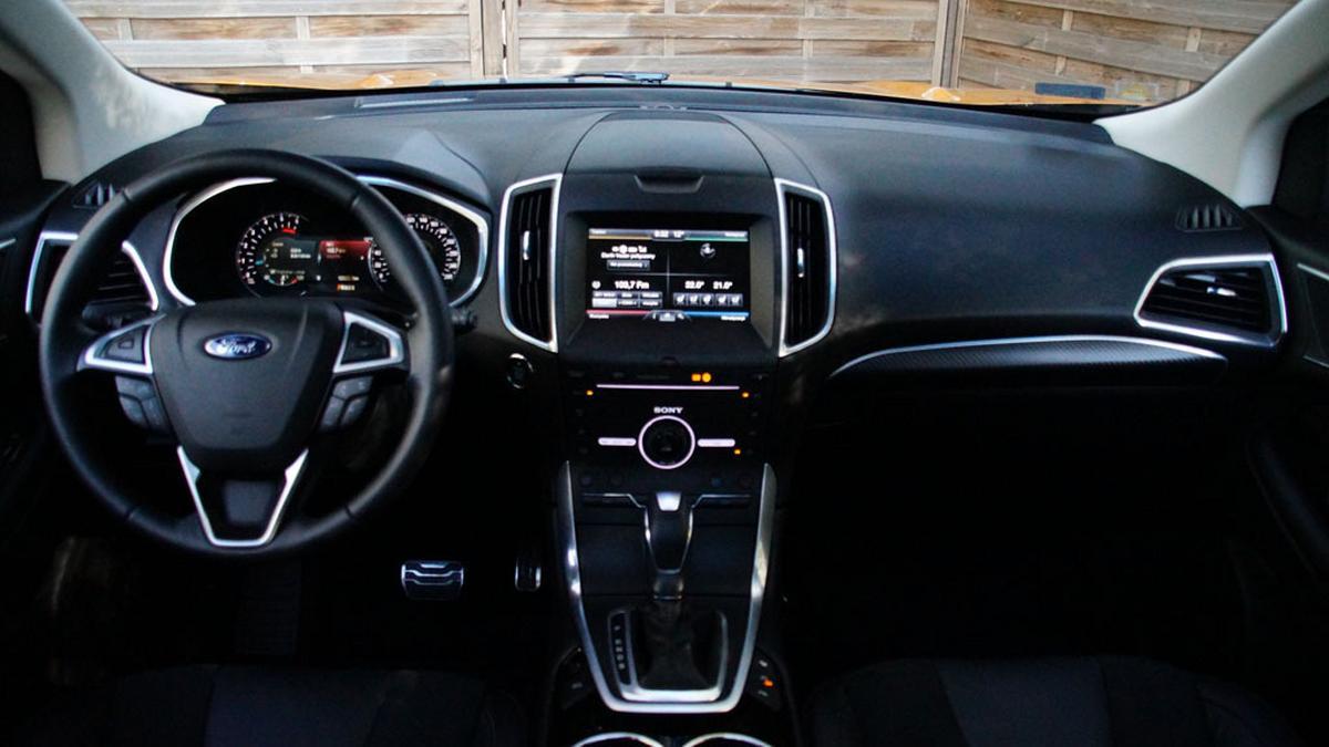 Auto miesiąca Ford Edge – wnętrze jest najważniejsze