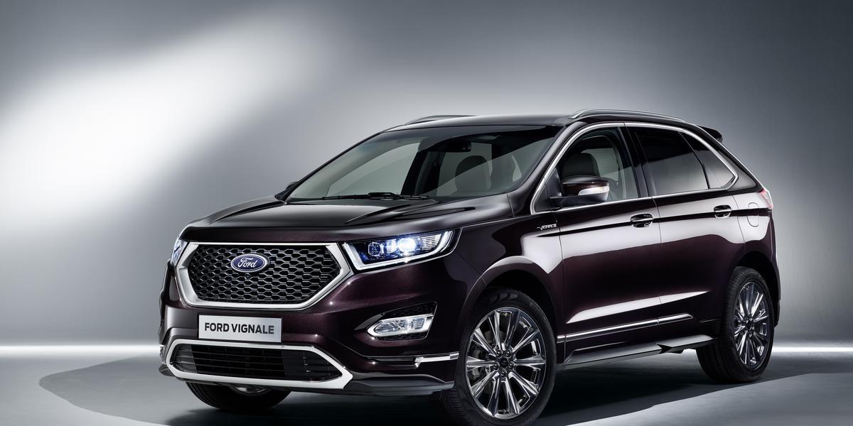 Ford Vignale Edge – jeszcze więcej stylu i luksusu.