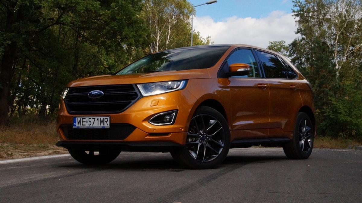 Wyrafinowany… pod maską – nowy Ford Edge!
