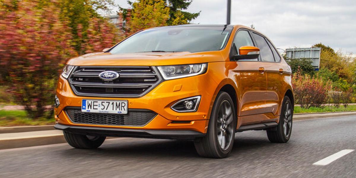 Czytelnicy Auto Świata testują Forda Edge'a – czyli, SUV w rozmiarze XXL