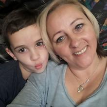 moniczka77in kobieta Sulechów -  rodzina i synek mój ukochany